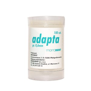 Adapta 0,6mm 100szt.
